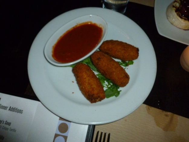 Days 16 018 sweet italian sausage risotto croquettes