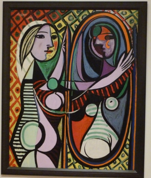 Day4 Picasso Girl Looking in a Mirror