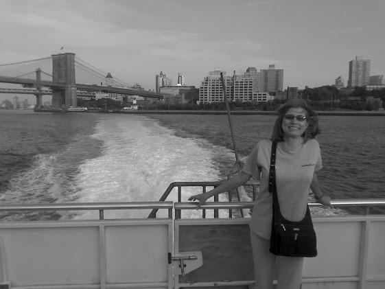Nia on ferry