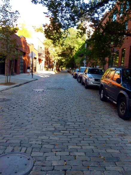 Between the meat packing district and Greenwich Village