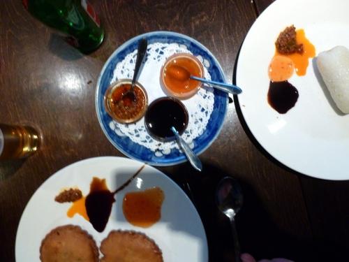 Appetizer sauces