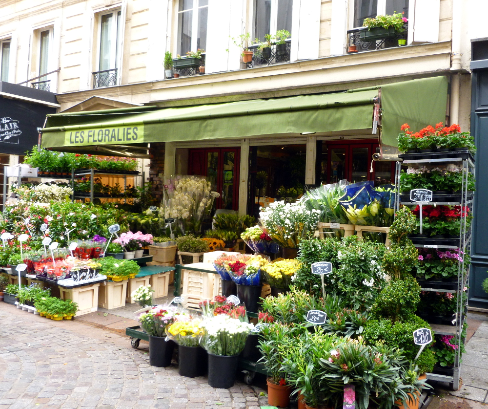 Flowers at Rue Cler