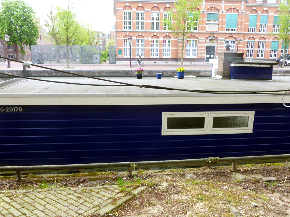 Houseboat outside