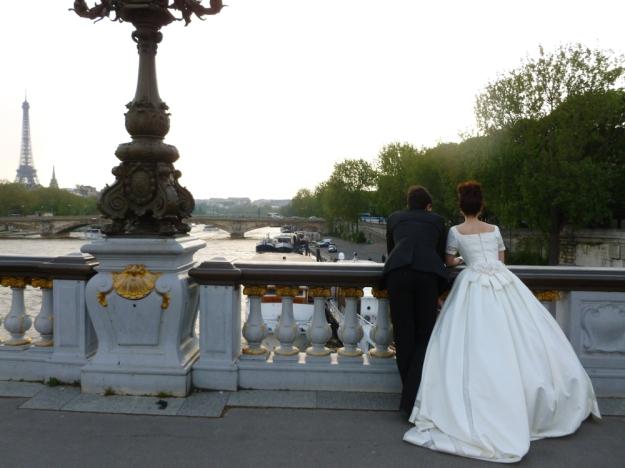 Pont Alexandre III bride
