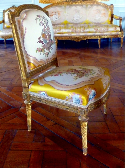 A Chair at the Palace of Versailles