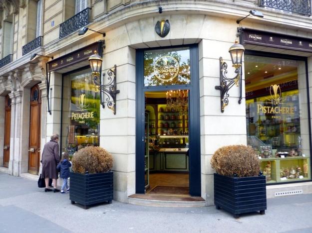 A store for pistachios