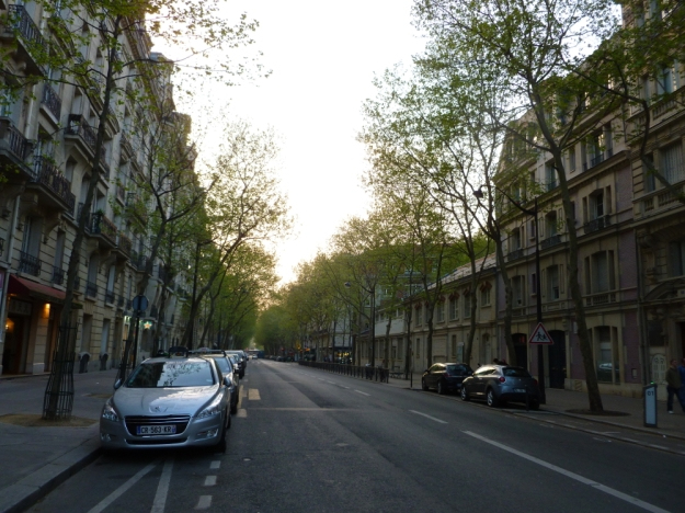 L'avenue de la Bourdanais