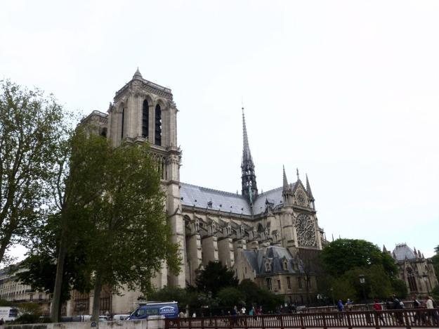 Notre Dame stylized