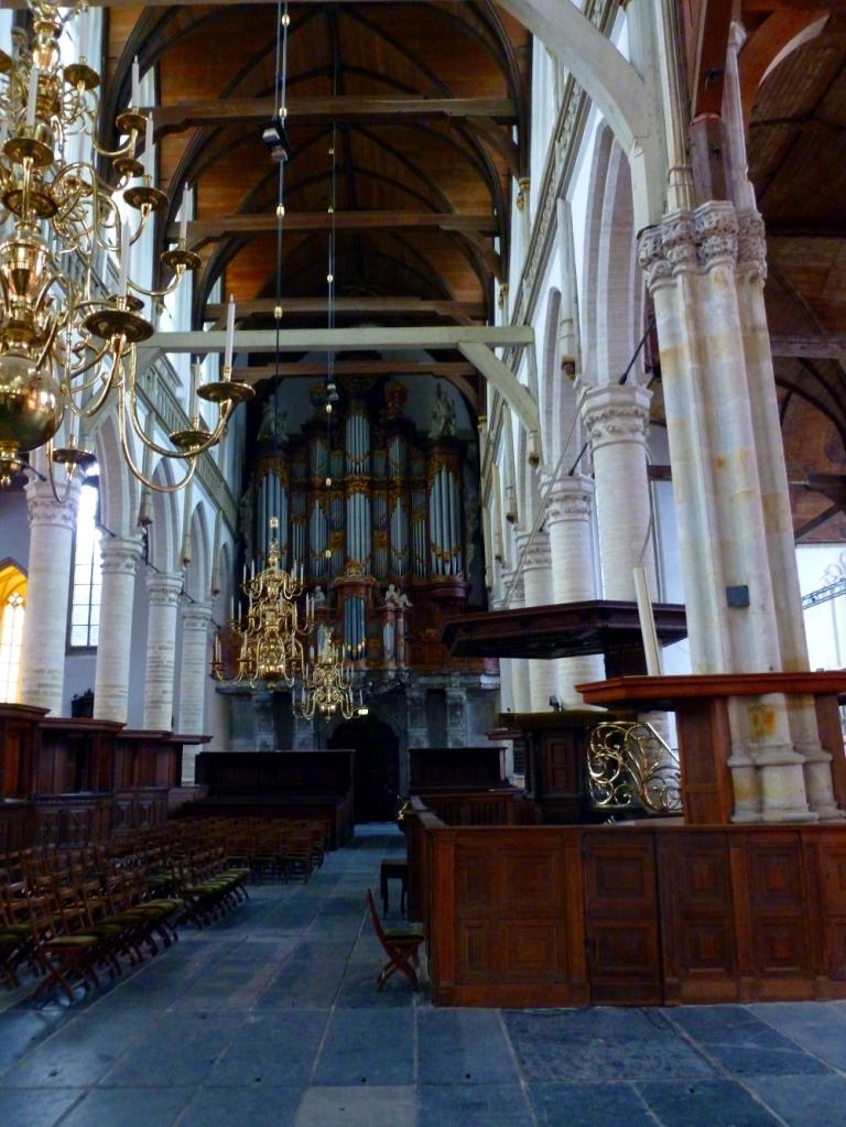 De Oude Kerk interior
