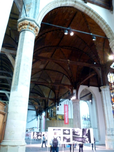 De Oude Kerk photo journalism exhibit