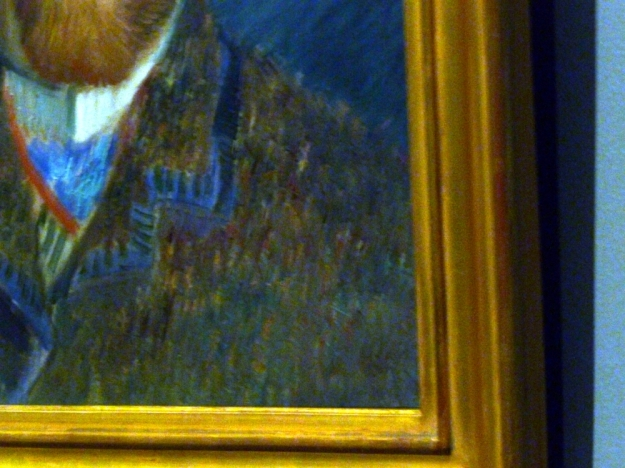 Van Gogh Self Portrait detail enhanced 2
