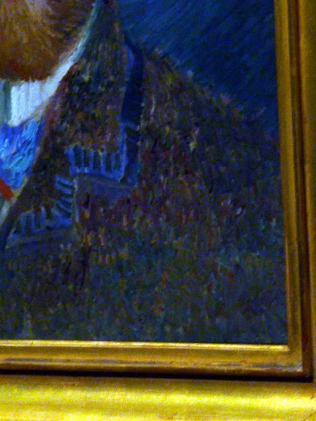 Van Gogh Self Portrait detail enhanced