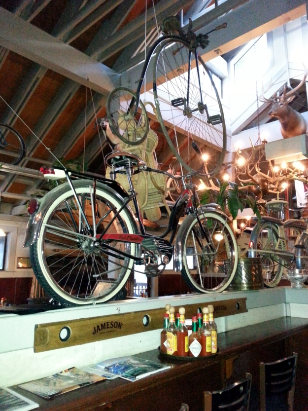 Antique bikes