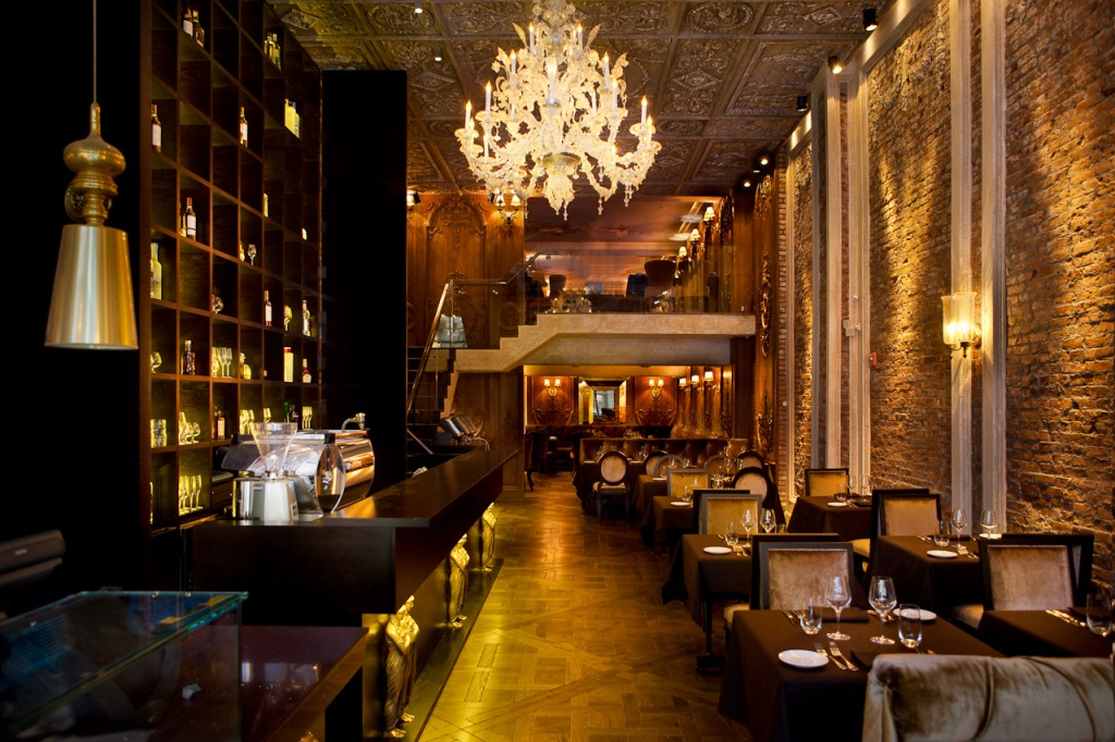 Dining Room at Brasserie Puskin NYC