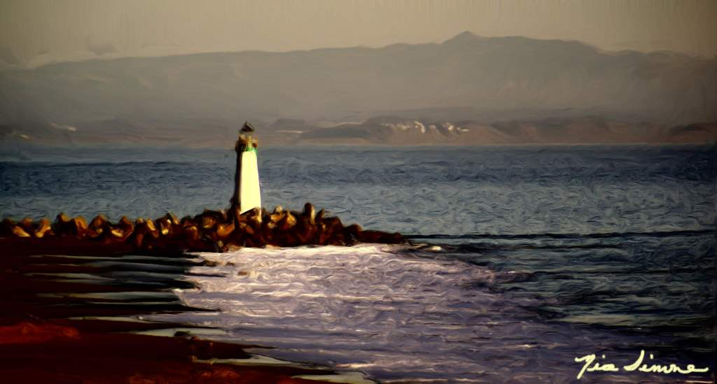 Santa_Cruz_Light_House_Painting