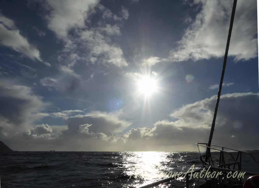 Heading out to the Tasman Sea