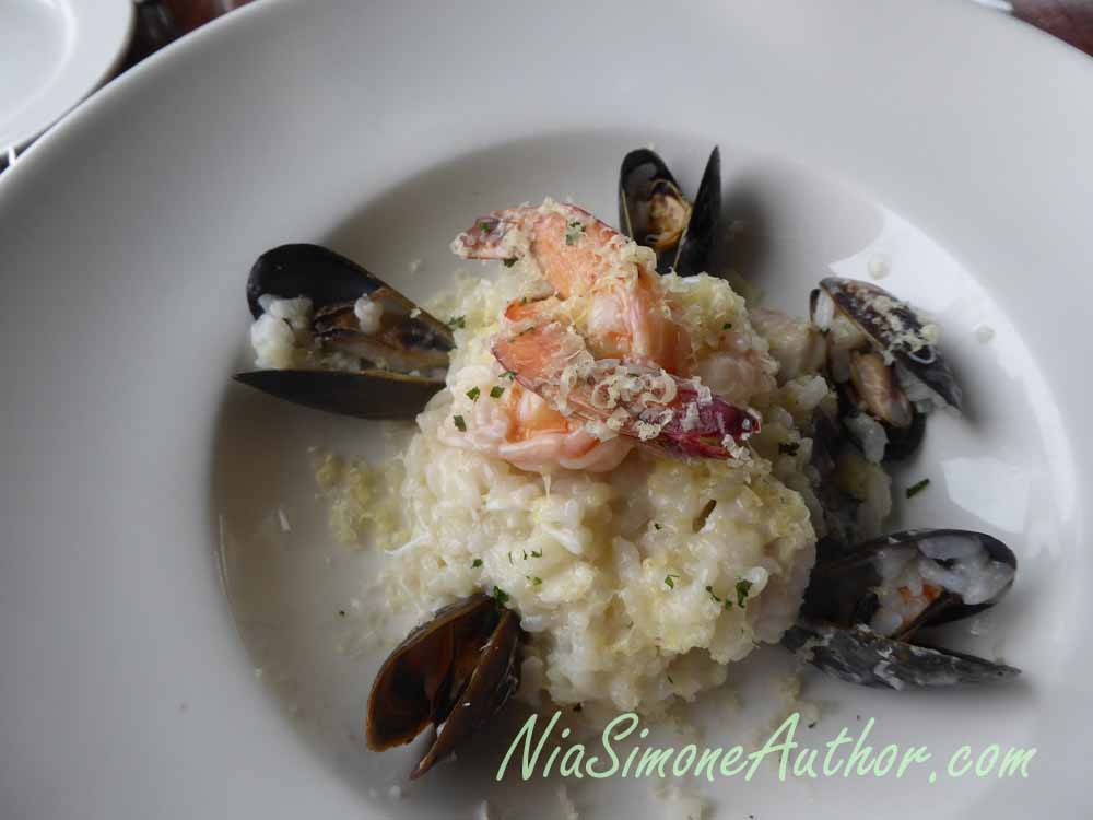 Seafood rissotto