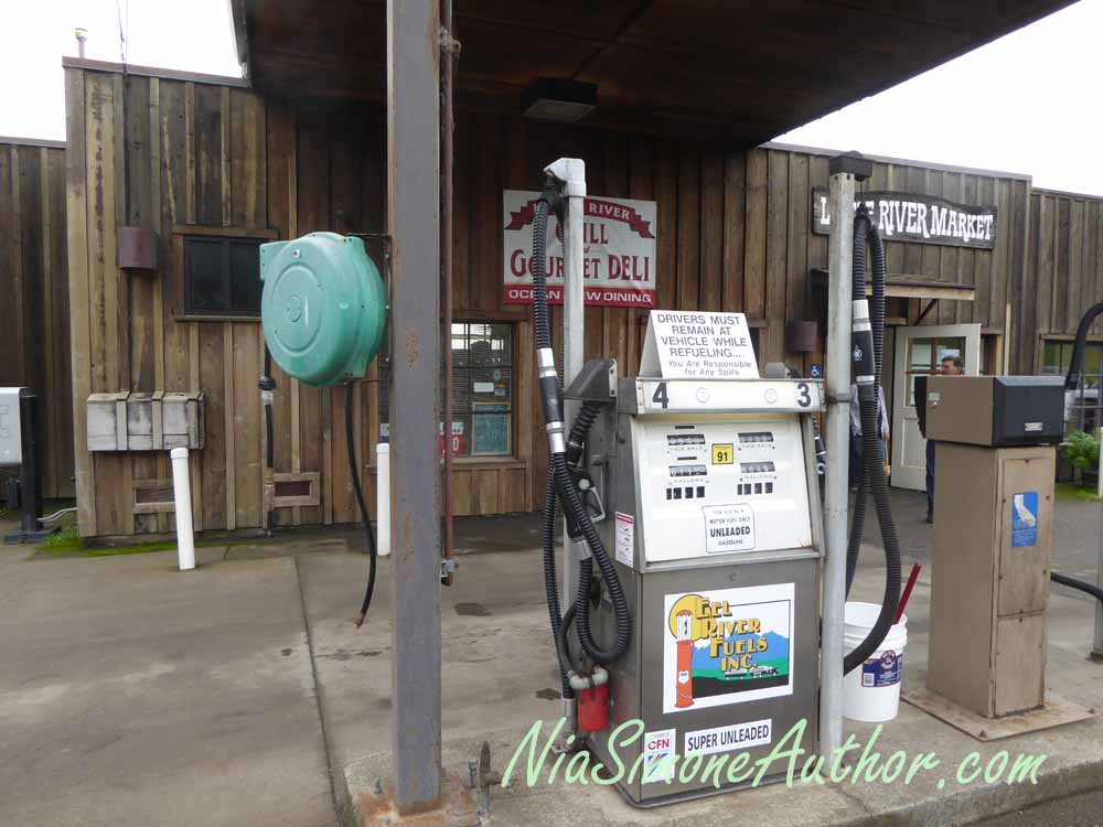 Little River gas station.