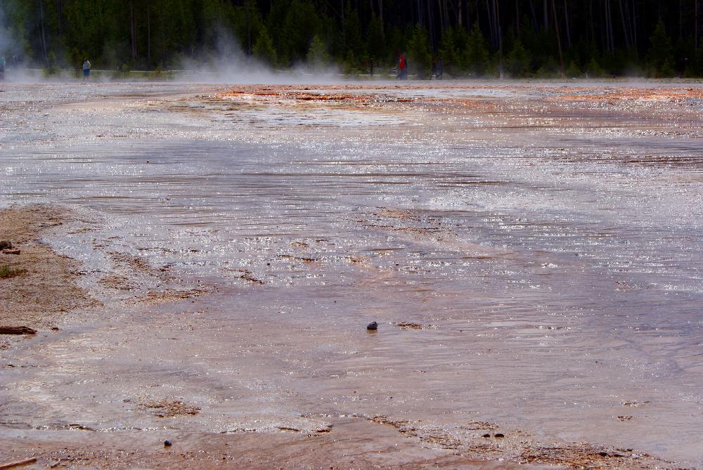 Hot mud