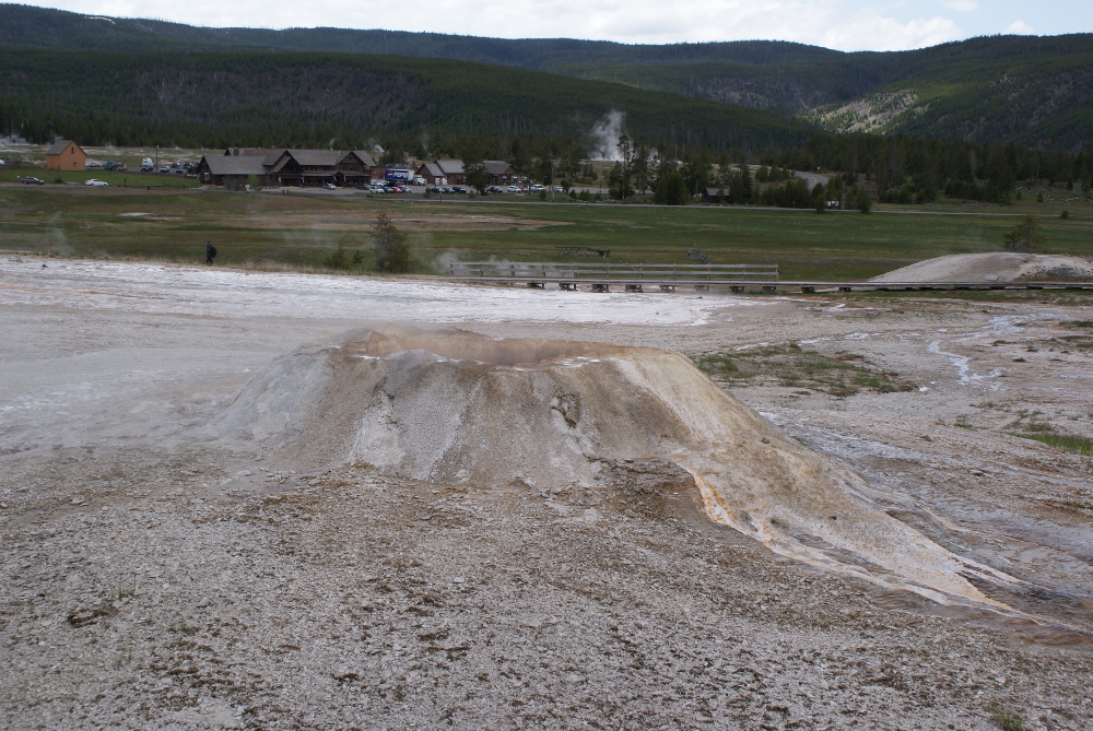 Sponge Geyser, Geyser Hill, Yellowstone National Park