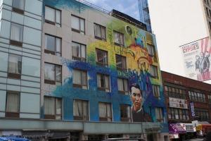 Street Art, China Town, Off Canal Street, New York City