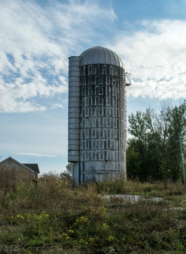 Silo in near Vergennes Vermont