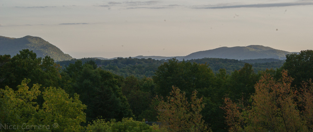 Nightfall in Vermont