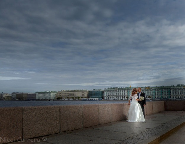 Bride in Saint Petersburg Russia