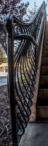 Fire house railing