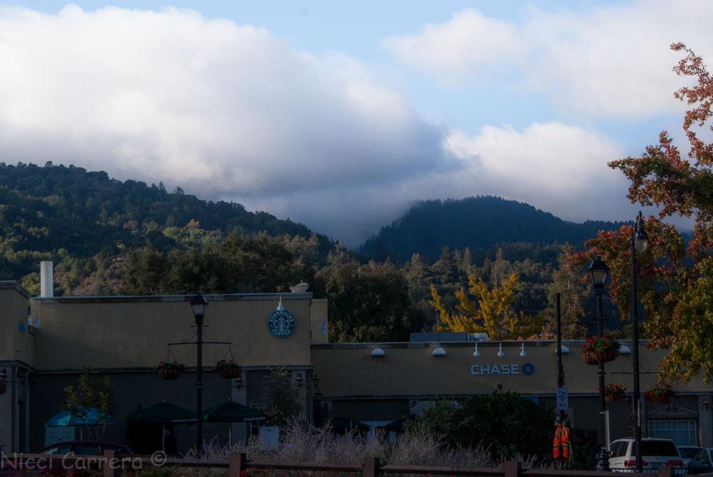 Clouds over Saratoga