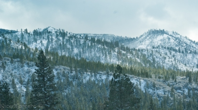 Sierras with a coat of snow-2