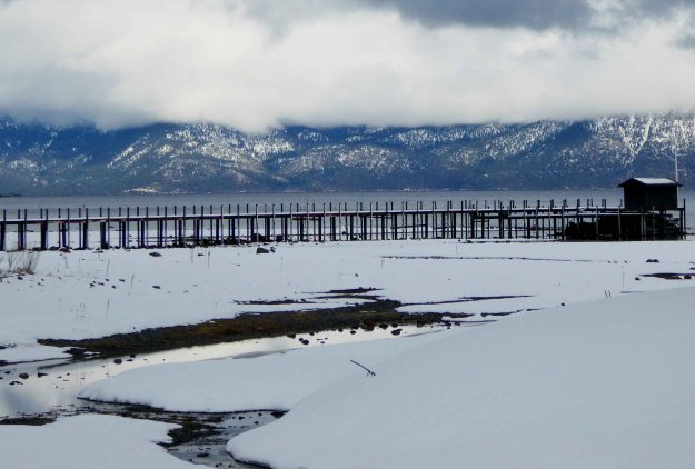 Lake Tahoe winter 2016